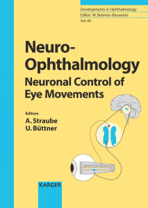 Neuro-Opthalmology (Developments in Ophthalmology, Vol. 40)