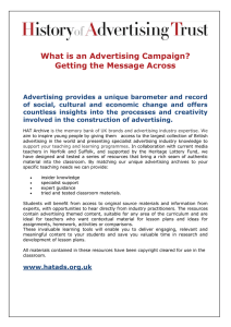 What is an Advertising Campaign? Getting the Message Across