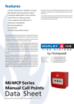 MI-MCP Series Manual Call Points