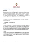 Coagulase-negative Staphylococcus Species Information Sheet