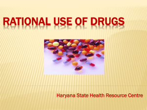 rational drug use programme