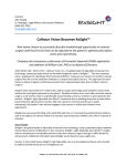 Calhoun Vision Becomes RxSight™