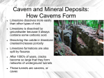 Caverns and Mineral Deposits