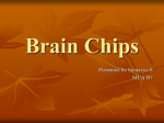 Brain Chips - IndiaStudyChannel.com