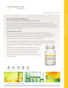 Active B-Complex | Information Sheet