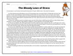 The Bloody Laws of Draco