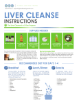 liver cleanse - Global Healing Center