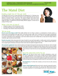 The Matol Diet - Young Body Mind Institute