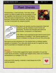 Plant Sterols - Pennington Biomedical Research Center