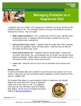 Managing Diabetes On A Vegetarian Diet