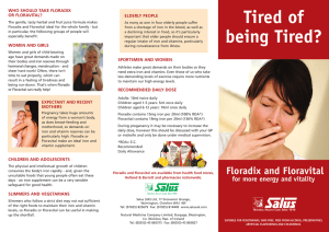 Tired of being Tired? - Natural Medicine Company
