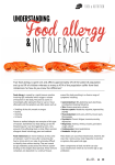 Food allergy - Inspiring Health