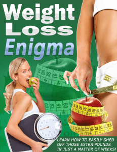 Weight Loss Enigma 2