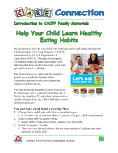 Help Your Child Learn Healthy Eating Habits