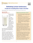 Rethinking Lactose Intolerance: A Guide for