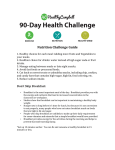 Nutrition Challenge Guide