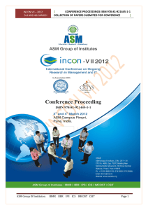 conference proceedings isbn 978-81-921445-1