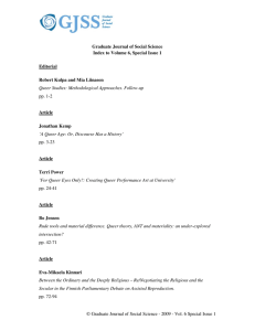 Access full issue - Graduate Journal of Social Science