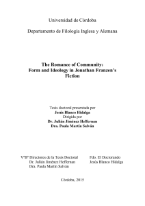 Form and Ideology in Jonathan Fr - Helvia :: Repositorio Institucional