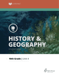 history and geography 1004
