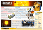 THE MISSION THE SCIENCE BEHIND CHEOPS ROLE OF ADMATIS