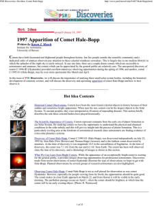 1997 Apparition of Comet Hale-Bopp - HIGP