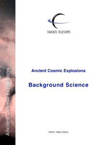 Background Science - Faulkes Telescope Project
