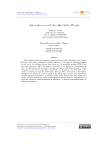 Astrospheres and Solar-like Stellar Winds | SpringerLink