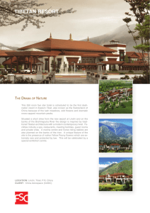 tibetan resort - resort architects