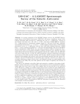 LSS-GAC – A LAMOST Spectroscopic Survey of the Galactic Anti