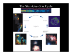 The Star–Gas–Star Cycle