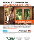 REPLACE YOUR WINDOWS. WE`LL REPLACE YOUR CASH*.