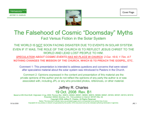 "The Falsehood of Cosmic ""Doomsday"" Myths"