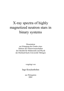 X-ray spectra of highly magnetized neutron stars in binary systems