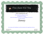 Free Stars For You Stewey