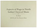 Aspects of Raga in North Indian Classical Music