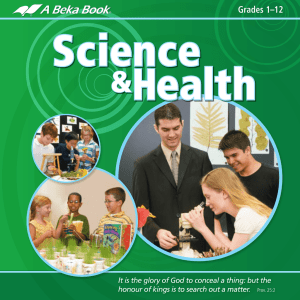 Science-Health Brochure