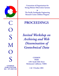PROCEEDINGS Invited Workshop on Archiving and Web
