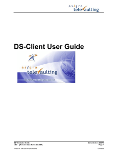 DS-Client User Guide
