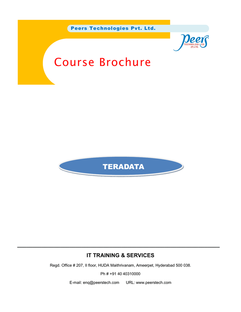 Tera Data - Peers Technologies