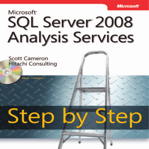 Microsoft SQL Server 2008 Analysis Services Step by