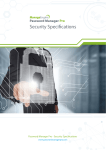 Security Specifications