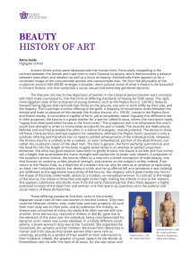 beauty history of art ola