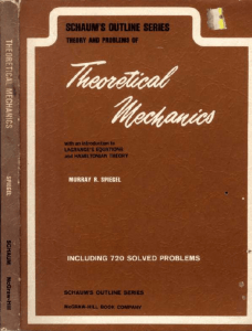 Schaum`s Theory and Problems of Theoretical Mechanics