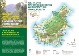 Biodiversity Conservation Within Production Forest