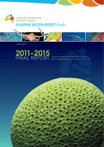 1 NERP Marine Biodiversity Hub final report Jun10 2015 WEB