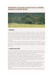 Guidelines to buying a game farm or wildlife property