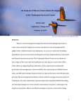 An Analysis of Macaw Conservation Strategies at the Tambopata