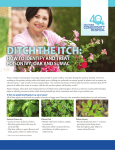Ditch the Itch: How to Identify and Treat Poison Ivy, Oak and Sumac