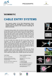 cable entry systems - Kompetenznetz Biomimetik